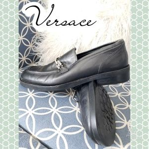 Versace loafer 9.5 39 1/2 womens